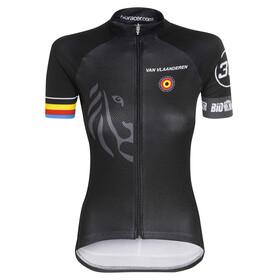 Bioracer Van Vlaanderen Pro Race Kortærmet cykeltrøje Damer sort